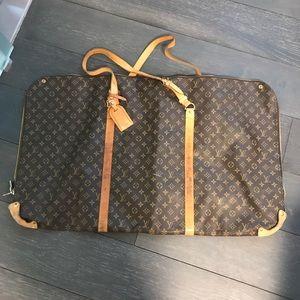 Authentic Louis Vuitton rare unique garment bag